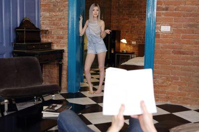 Sister Finds My Pocket Pussy - Eva Elfie - VR Porn - Image 1
