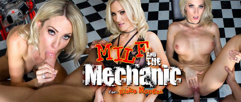 MILF and the Mechanic feat. Blake Morgan - VR Porn Video