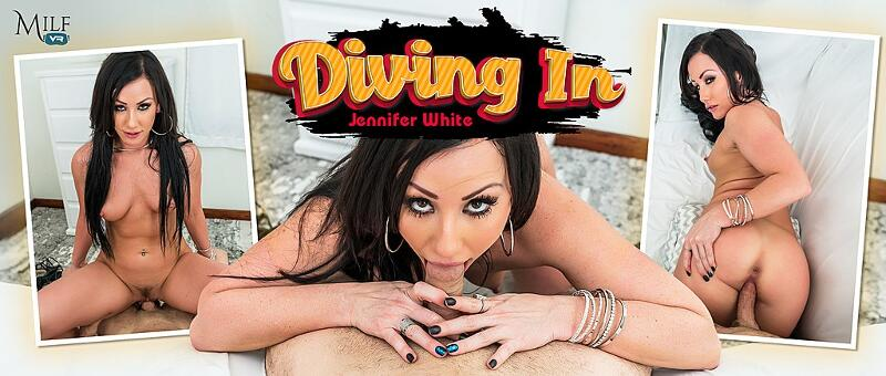 Diving In feat. Jennifer White - VR Porn Video