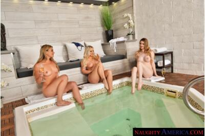 The Spa - Bailey Brooke, Bunny Colby, Serena Avary - VR Porn - Image 1