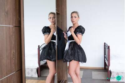 German Maid Fucked for Stealing - Julia Parker - VR Porn - Image 1