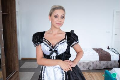 German Maid Fucked for Stealing - Julia Parker - VR Porn - Image 71