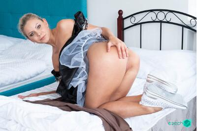 German Maid Fucked for Stealing - Julia Parker - VR Porn - Image 76