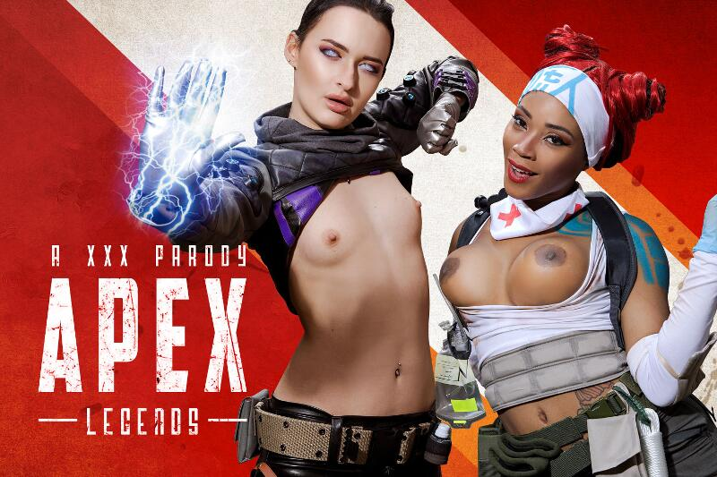 Apex A XXX Parody feat. Kiki Minaj, Sasha Sparrow - VR Porn Video