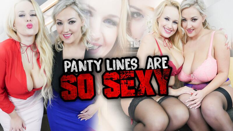 Panty Lines Are So Sexy feat. Angel Wicky, Krystal Swift - VR Porn Video