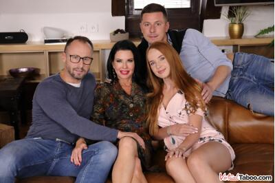 Our Family Rules: First Cum, First Served - Kaisa Nord, Veronica Avluv - VR Porn - Image 31
