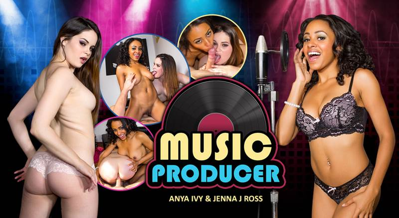 Music Producer feat. Anya Ivy, Jenna J Ross - VR Porn Video