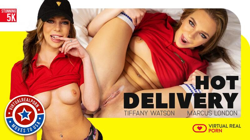 Hot Delivery feat. Tiffany Watson - VR Porn Video