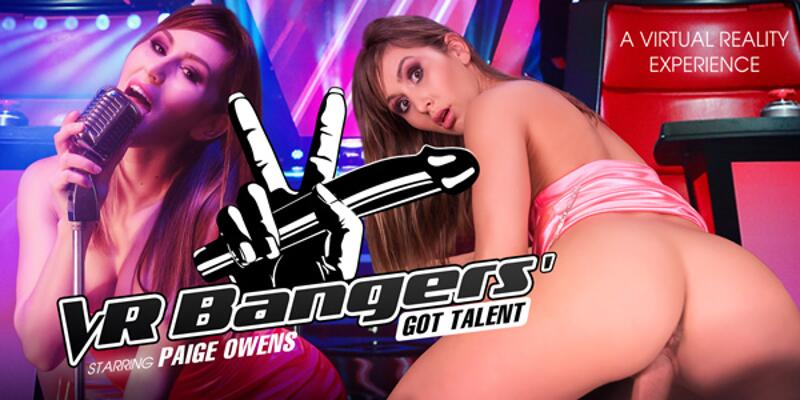 VR Bangers' Got Talent feat. Paige Owens - VR Porn Video