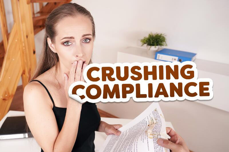 Crushing Compliance feat. Kinuski Kakku - VR Porn Video