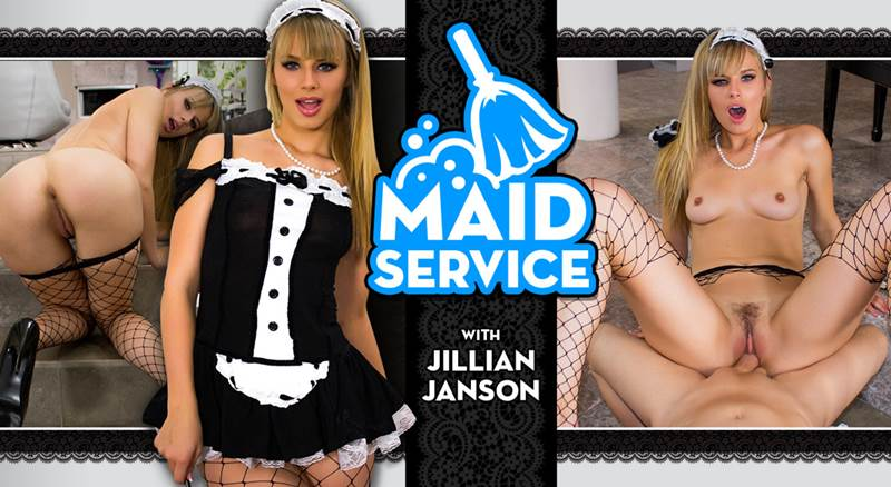 Maid Service feat. Jillian Janson - VR Porn Video
