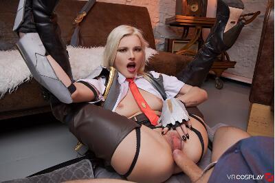 Overwatch: Ashe A XXX Parody - Zazie Skymm - VR Porn - Image 5