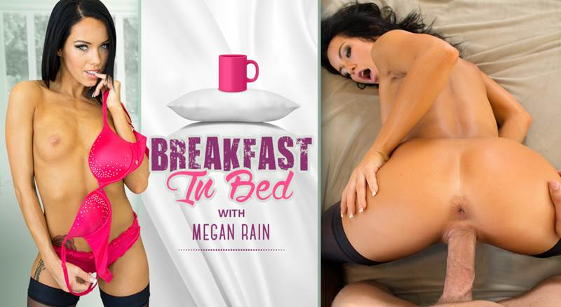 Breakfast in Bed feat. Megan Rain - VR Porn Video
