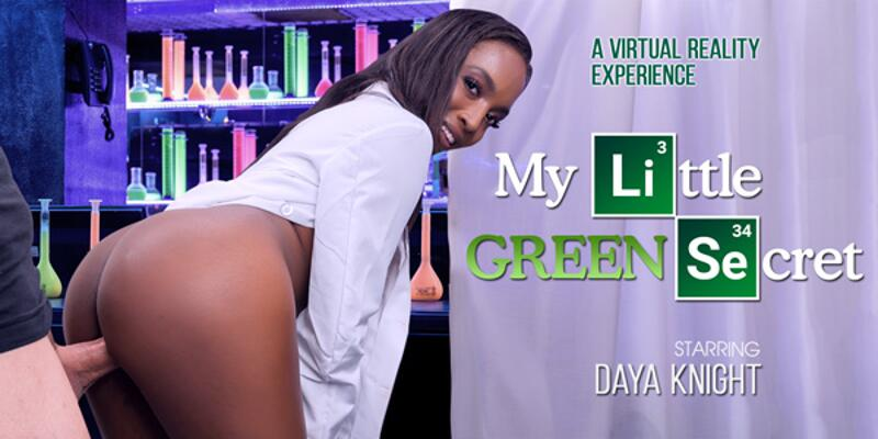 My Little Green Secret feat. Daya Knight - VR Porn Video