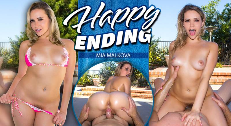 Happy Ending feat. Mia Malkova - VR Porn Video
