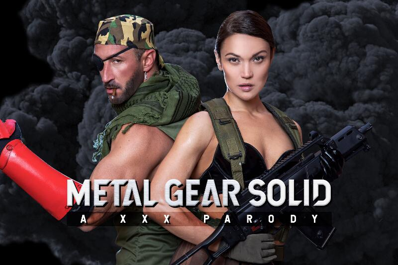 Metal Gear Solid A XXX Parody feat. Alyssa Reece - VR Porn Video