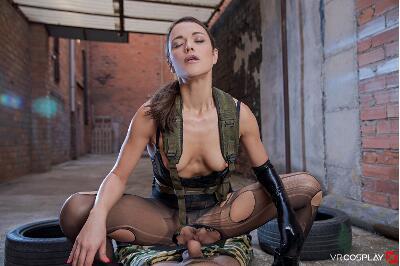 Metal Gear Solid A XXX Parody - Alyssa Reece - VR Porn - Image 11