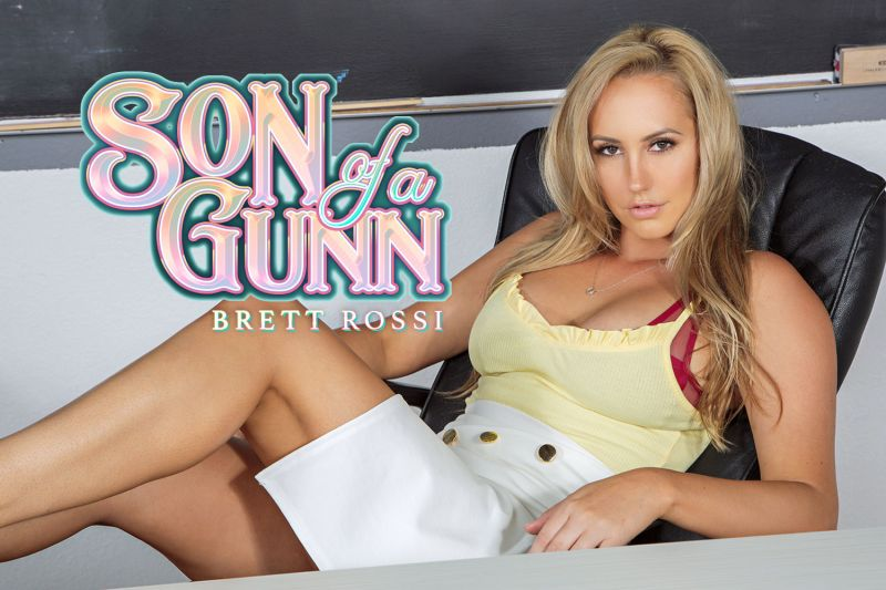 Son of a Gunn feat. Brett Rossi - VR Porn Video