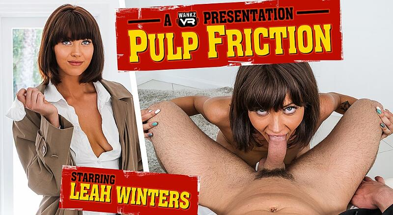 Pulp Friction feat. Leah Winters - VR Porn Video