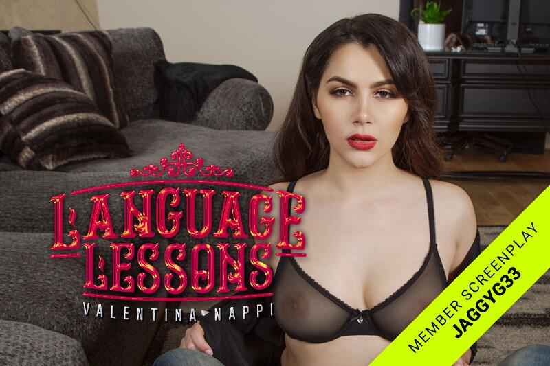 Language Lessons feat. Valentina Nappi - VR Porn Video