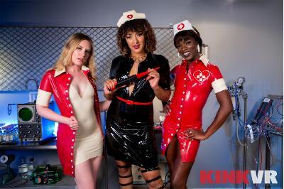 Nurse the Pain - Ana Foxxx, Daisy Ducati, Dresden - VR Porn - Image 1