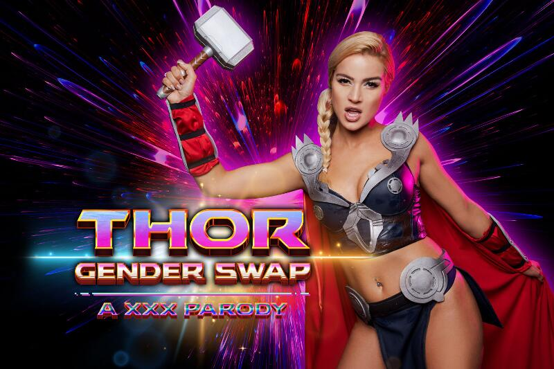 Thor A XXX Parody Gender Swap feat. Cherry Kiss - VR Porn Video