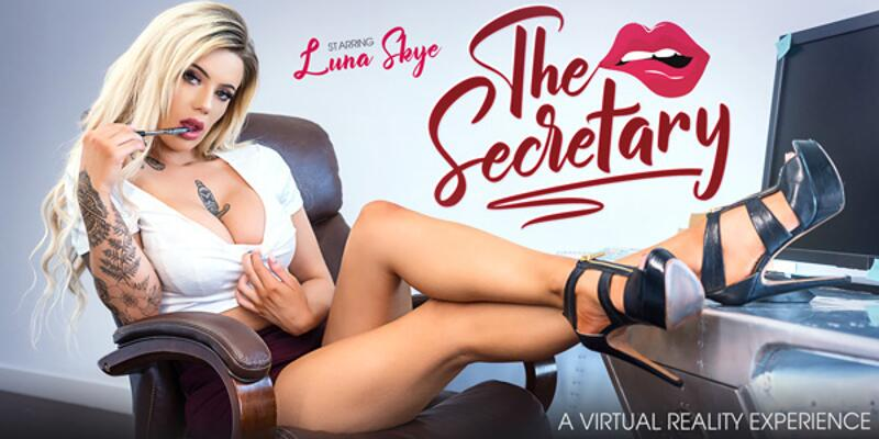 The Secretary feat. Luna Skye - VR Porn Video
