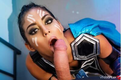 Thor (Valkyrie) A XXX Parody - Aysha X - VR Porn - Image 11