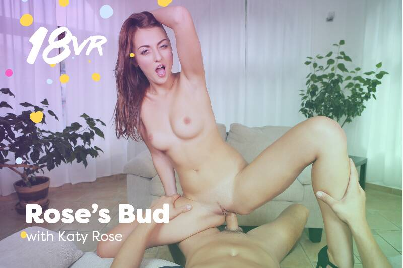 Rose's Bud feat. Katy Rose - VR Porn Video