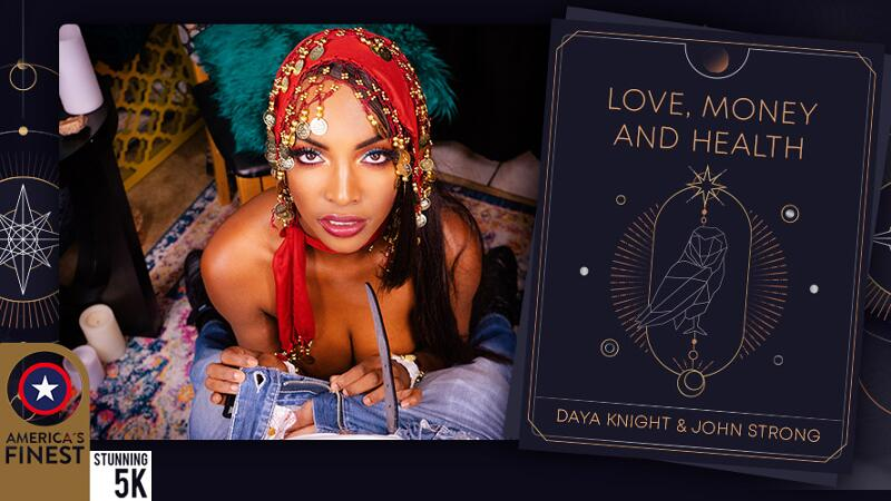 Love, Money and Health feat. Daya Knight - VR Porn Video