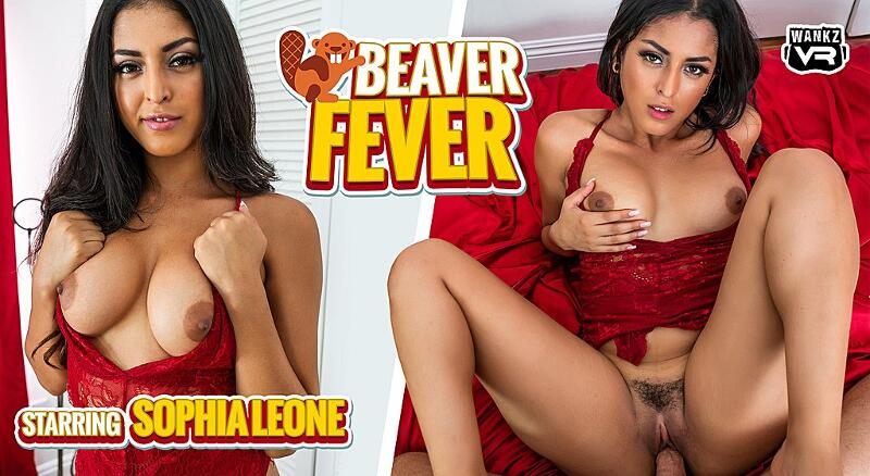Beaver Fever feat. Sophia Leone - VR Porn Video
