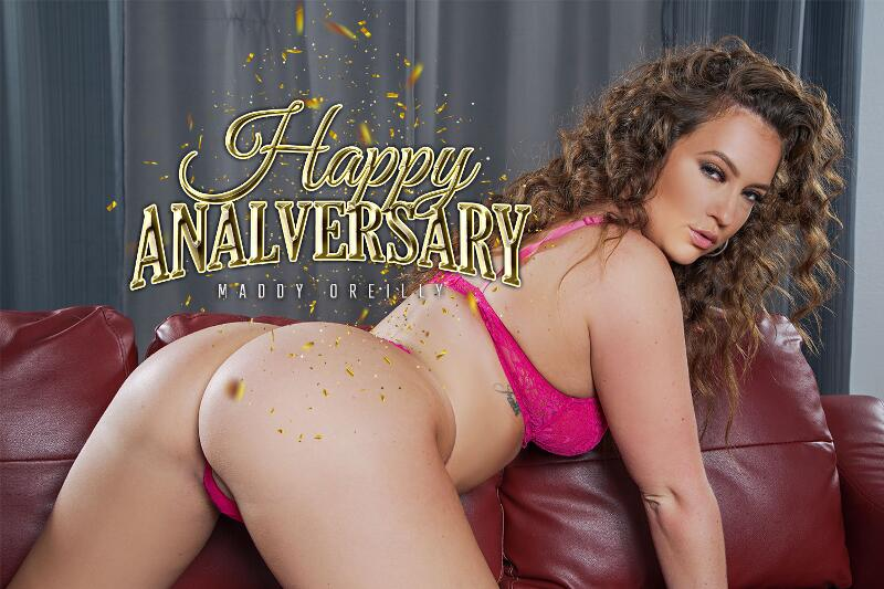 Happy Analversary feat. Maddy O'Reilly - VR Porn Video