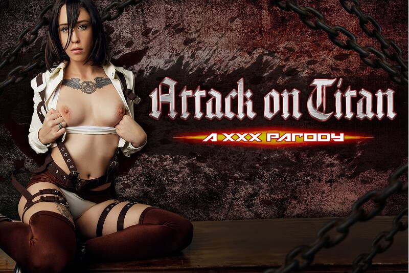 Attack on Titan A XXX Parody feat. Lilyan Red - VR Porn Video