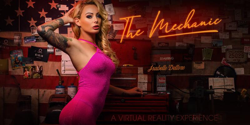 The Mechanic feat. Isabelle Deltore - VR Porn Video