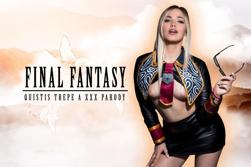 Final Fantasy: Quistis Trepe A XXX Parody feat. Selvaggia Babe - VR Porn Video