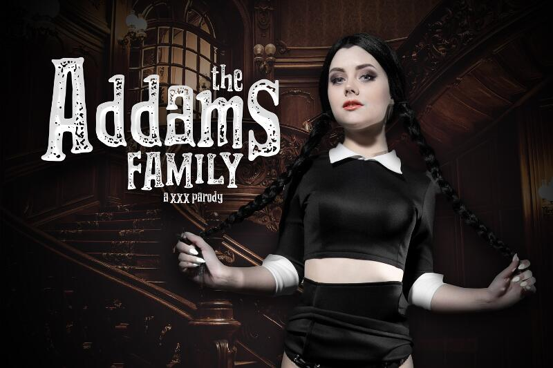 The Addams Family A XXX Parody feat. Emily Cutie - VR Porn Video