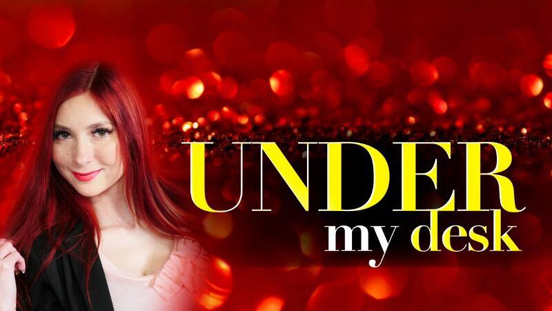 Under My Desk feat. Katy Gold - VR Porn Video