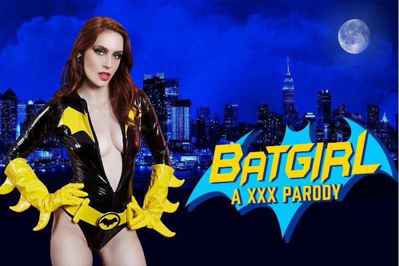 Batgirl A XXX Parody feat. Anna De Ville - VR Porn Video