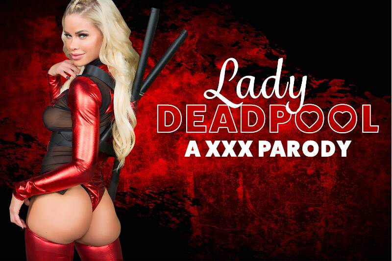 Lady Deadpool A XXX Parody feat. Jessa Rhodes - VR Porn Video