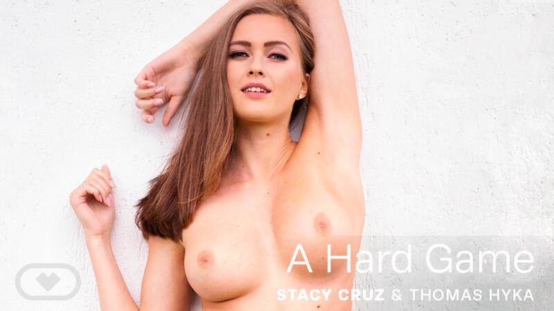 A Hard Game feat. Stacy Cruz - VR Porn Video