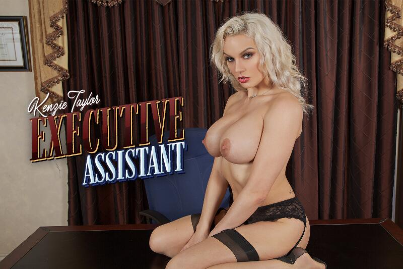 Sexecutive Assistant feat. Kenzie Taylor - VR Porn Video