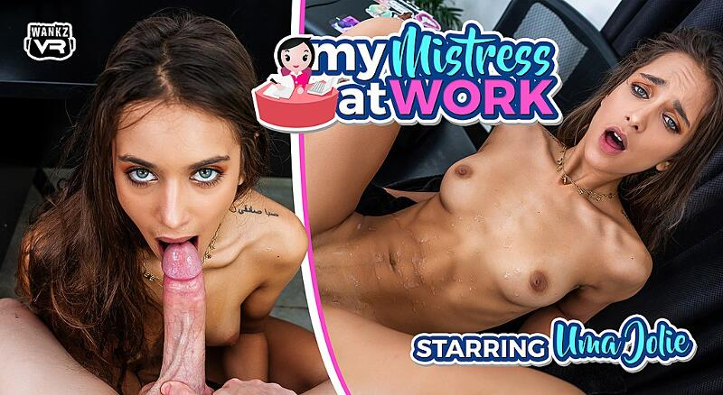 My Mistress at Work feat. Uma Jolie - VR Porn Video