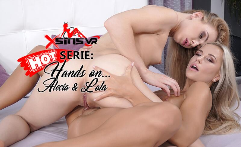 Hands on ... Blonds feat. Alecia Fox, Lola Myluv - VR Porn Video