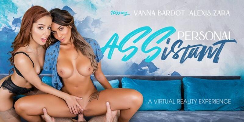 Personal ASSistant feat. Alexis Zara, Vanna Bardot - VR Porn Video