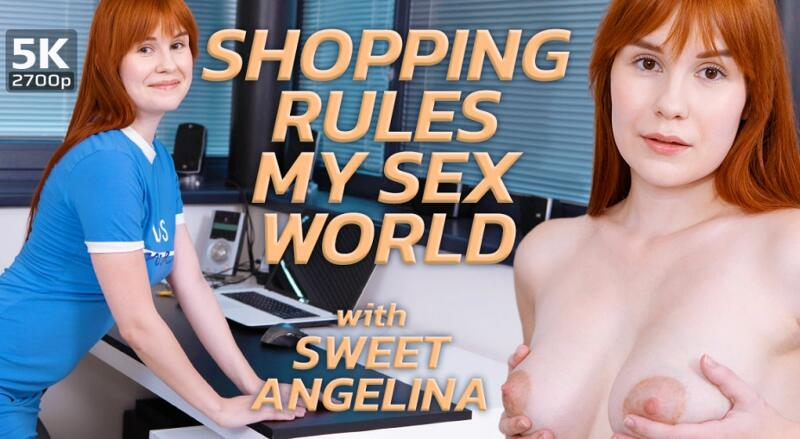 Shopping Rules My Sex World feat. Sweet Angelina - VR Porn Video