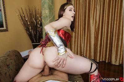Wonder Woman A XXX Parody - Chanel Preston - VR Porn - Image 34