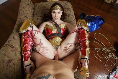 Wonder Woman A XXX Parody - Chanel Preston - VR Porn - Image 37