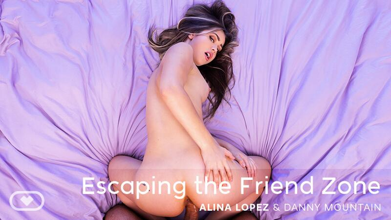 Escaping the Friend Zone feat. Alina Lopez - VR Porn Video