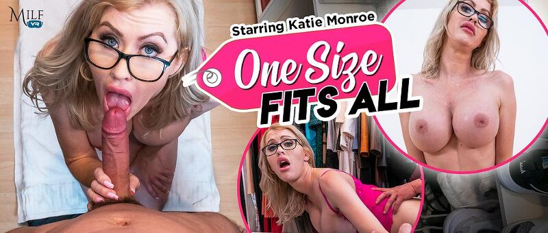 One Size Fits All feat. Katie Monroe - VR Porn Video