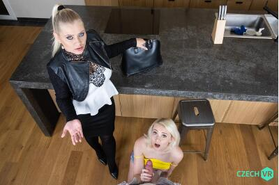 Slutty and Sluttier - Alexa Bold, Marilyn Sugar - VR Porn - Image 2